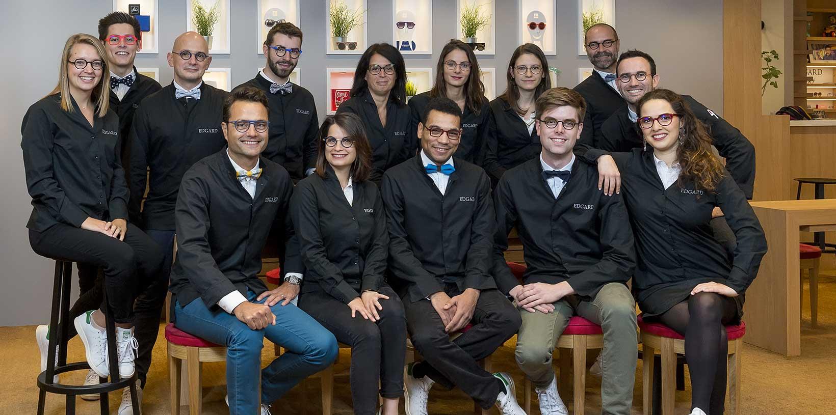 Equipe Edgard Opticiens Caen