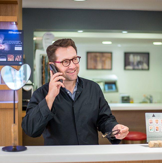 Edgard Opticiens Jacky téléphone
