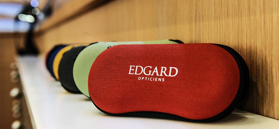 Edgard Opticiens boitiers lunettes