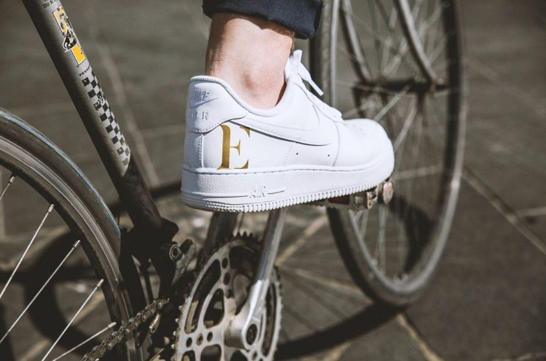Edgard à vélo