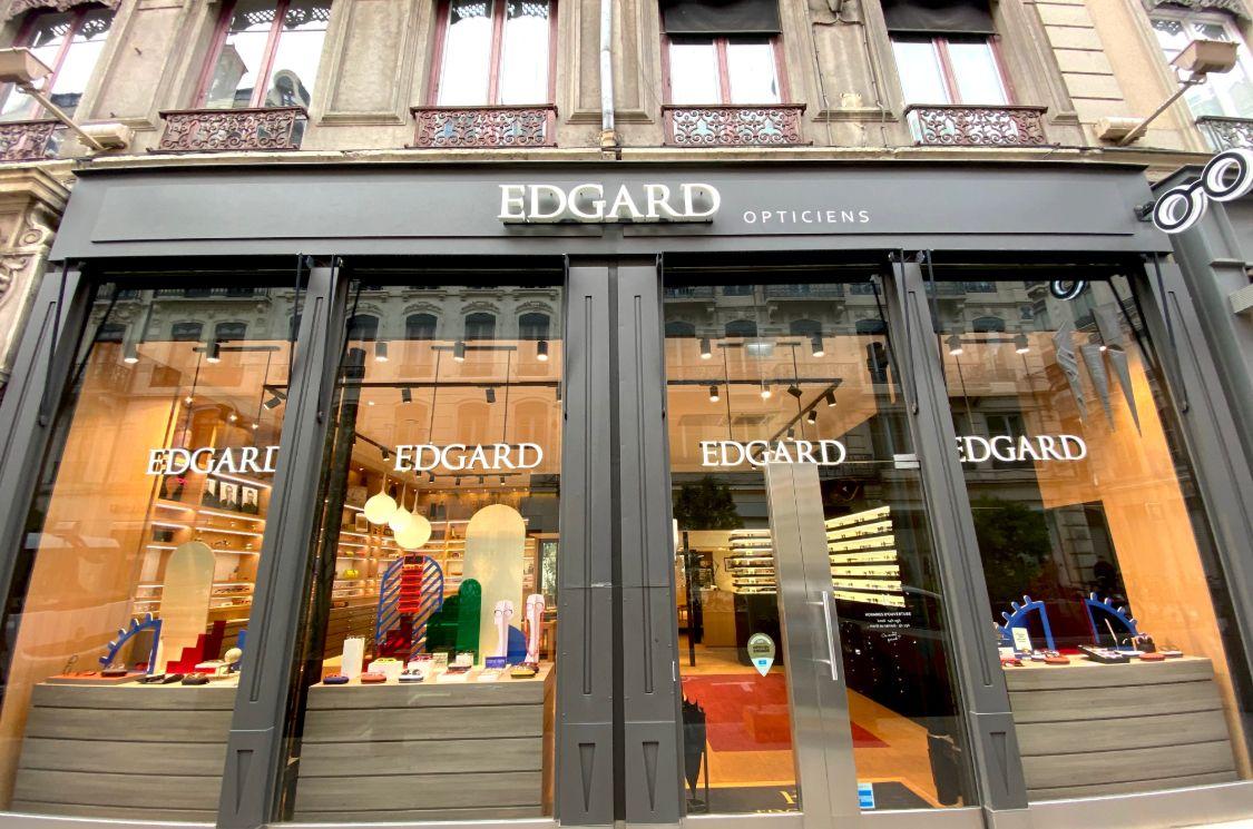 Edgard arrive à Lyon